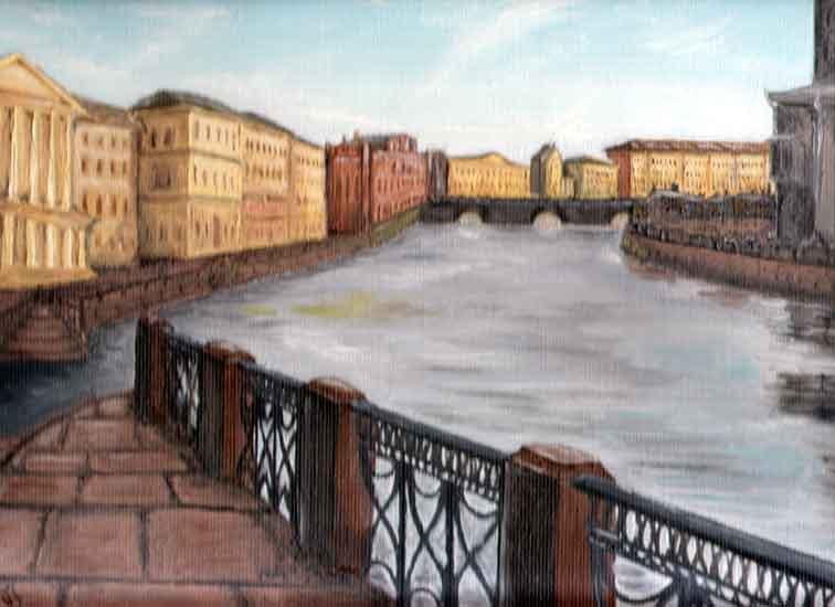 Мойка Петербург